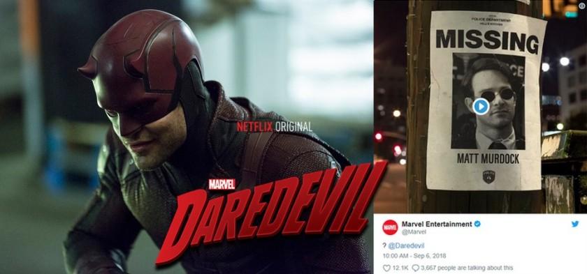 Daredevil - Seaso 3 Teaser
