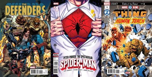 Destaques do Porco-Aranha #17 - Defensores, Homem-Aranha e Quarteto Fantástico