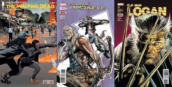 Destaques do Porco-Aranha #18 - The Walking Dead, Velho Gavião e Velho Logan
