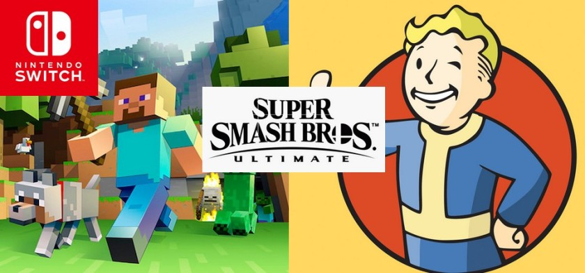 Dixie Kong, Geno, Incineroar, Steve e Vault Boy e outros personagens em novo rumor vazado de Super Smash Bros Ultimate