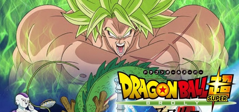Dragon Ball Super - Broly - Novo Poster do Filme