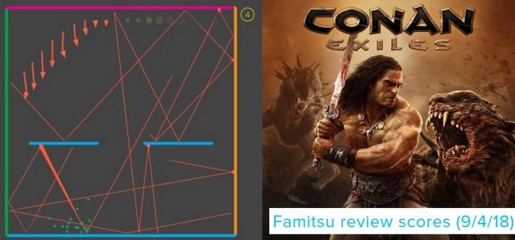 Famitsu Review Scores (9 4 18) - Flat Heroes e Conan Exiles são os destaques