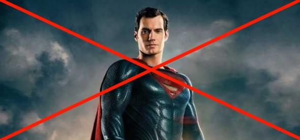 Henry Cavill não será mais o Superman no cinema segundo THR