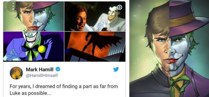 Mark Hammil agradece ao Coringa e ao Batman - A Série Animada no Batman Day em seu Twitter