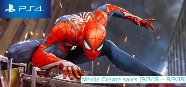 Media Create Sales (9 3 18 – 9 9 18) - Spider-Man foi o game mais vendido da semana no Japão