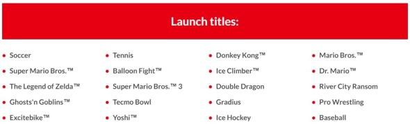 NES Games September 2018 - Nintendo Switch Online