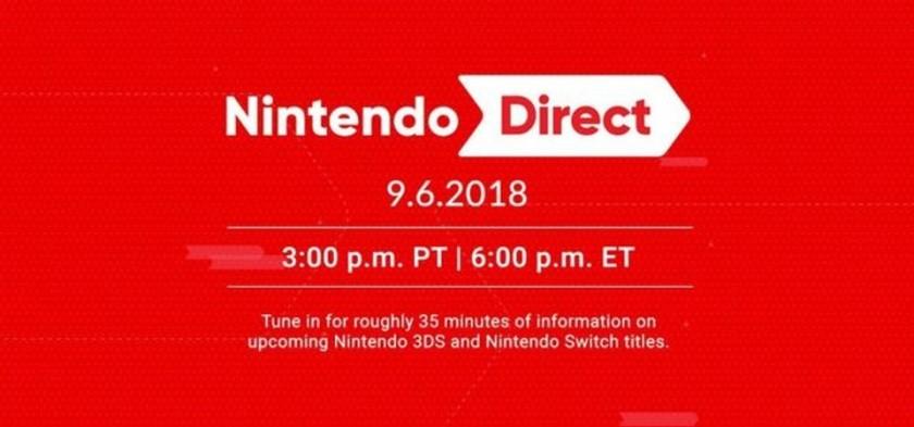 Nintendo Direct 09 06 2018 - Anunciado Nintendo Direct para AMANHÃ
