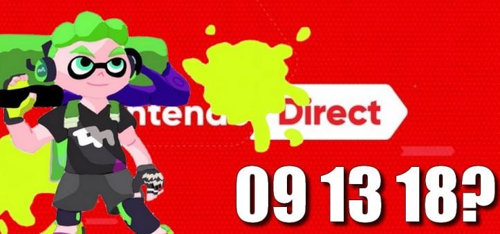 Nintendo Direct pode acontecer no dia 13 de setembro de 2018