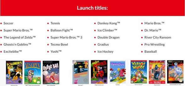 Nintendo Switch Online - Revelados os games de NES para 2018