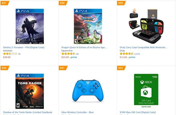 TOP 10 Amazon - Destiny 2 - Forsaken