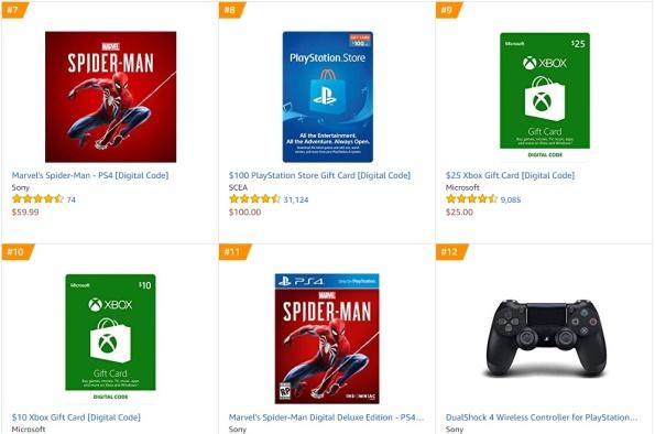 TOP 2 3 Amazon - Marvel´s Spider-Man