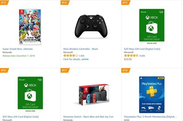 TOP 4 Amazon - Super Smash Bros Ultimate