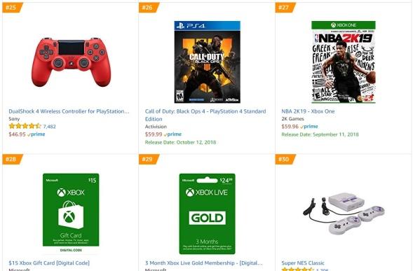 TOP 8 9 Amazon - Call of Duty Black Ops 4 NBA 2K19