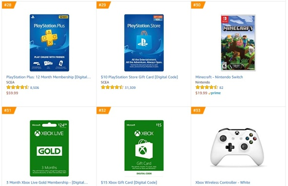 TOP 8 Amazon - Minecraft