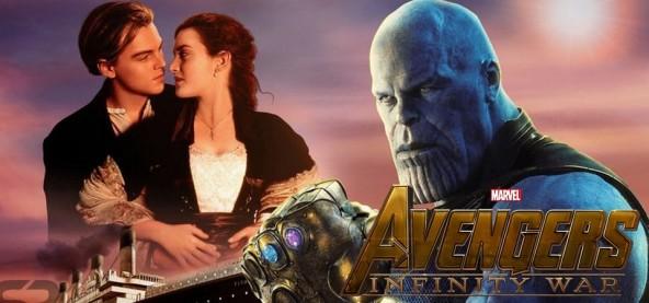 Vingadores - Guerra Infinita supera Titanic na bilheteria