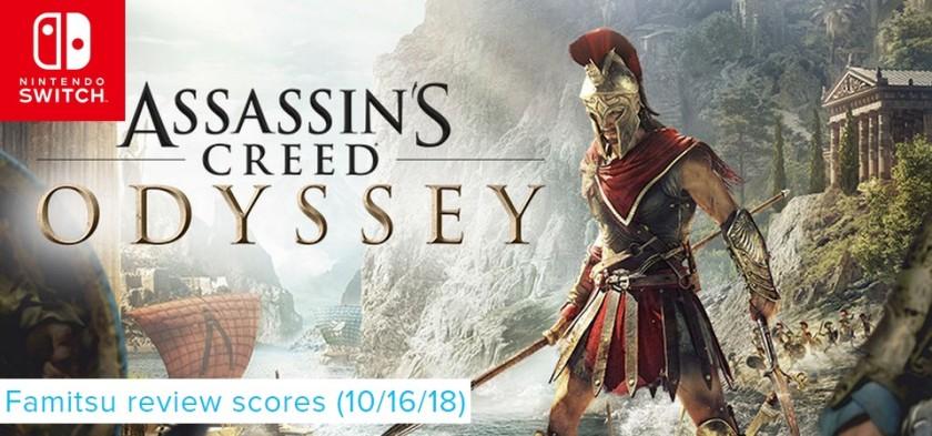 Famitsu Review Scores (10 16 18) - Assassin´s Creed Odyssey, Astro Bot e Forza são os destaques da semana