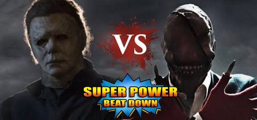 Super Horror Beat Down - Michael Myers Vs. The Look See - Halloween Especial