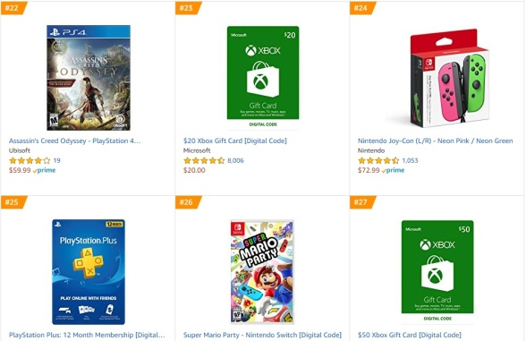 Top 8 9 Amazon - Assassin´s Creed Odyssey Super Mario Party