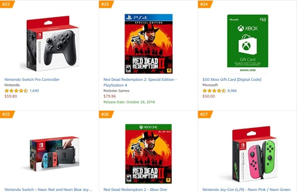 Top 8 9 Amazon - Red Dead Redemption 2