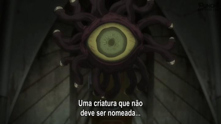 Beholder - Uma criatura que não deve ser nomeada - Goblin Slayer - Episódio 8