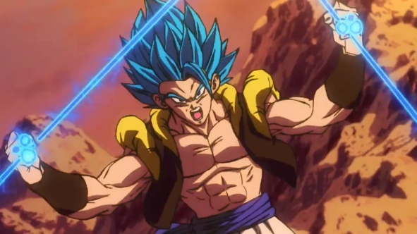 Gogeta Super Sayajin Blue - Dragon Ball Super Broly
