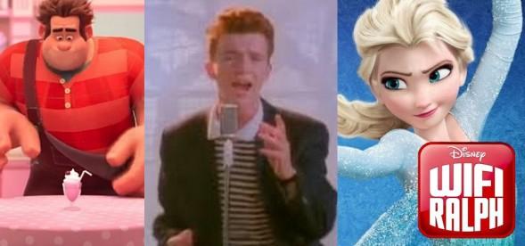 Memes, Jogo do Coelhinho, Frozen 2, Rick Astley e as Cenas Pós-Créditos de Wifi Ralph Quebrando a Internet.