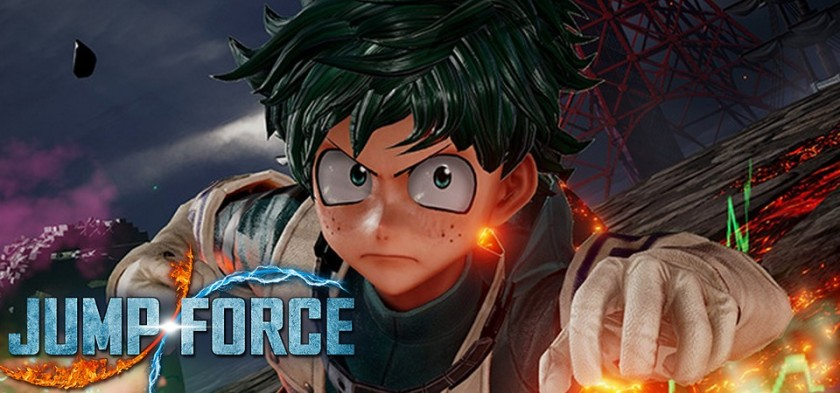 Deku de Boku no Hero Academia é anunciado para Jump Force