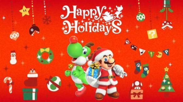 Happy Holiday 2018 Nintendo
