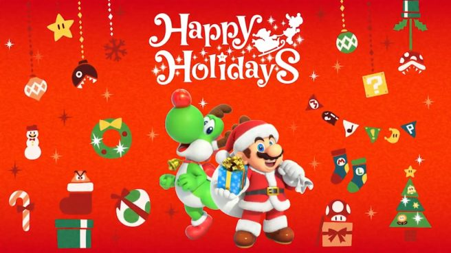 Happy Holiday 2018 Nintendo