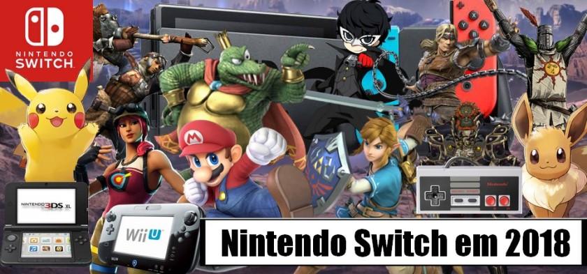 Nintendo Switch em 2018