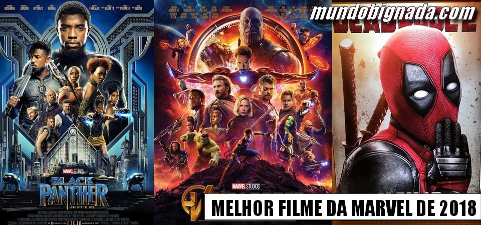 Super Enquete - Qual o Melhor Filme da Marvel de 2018