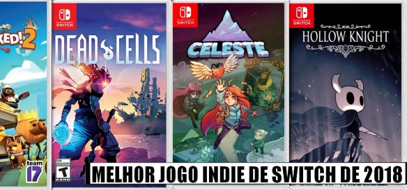 Super Enquete - Qual o Melhor Jogo Indie de Nintendo Switch de 2018