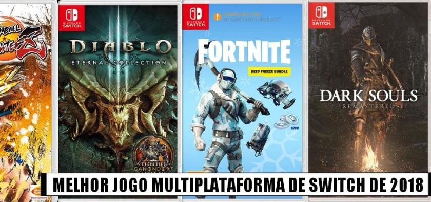 Super Enquete - Qual o Melhor Jogo Multiplataforma de Nintendo Switch de 2018