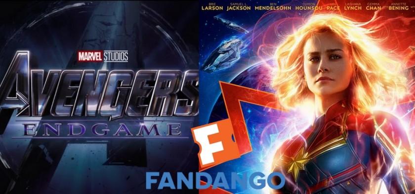 Vingadores Ultimato e Capitã Marvel são os filmes mais esperados de 2019 segundo Fandango
