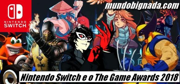 Nintendo Switch e o The Game Awards 2018