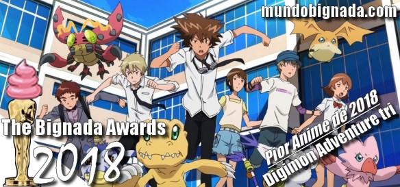 The Bignada Awards 2018 - Pior Anime de 2018 - Digimon Adventure tri