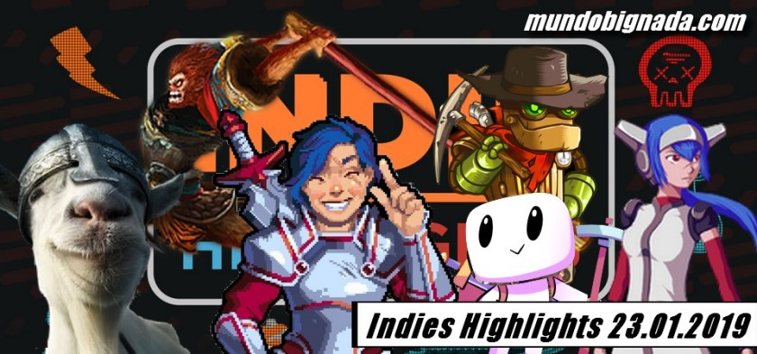 Indies Highlights 23 01 2019 - Resumo do Evento Digital