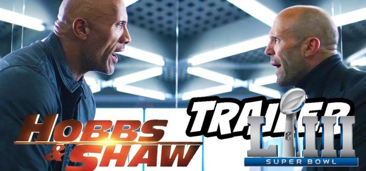 Hobbs e Shaw - TV Spot do Super Bowl 2019