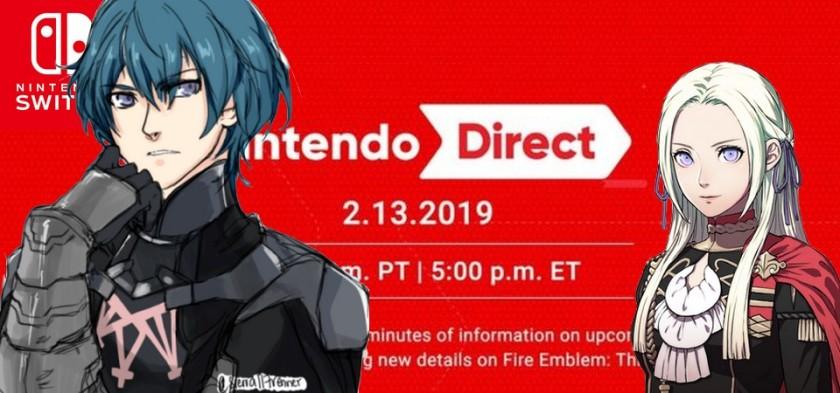 Nintendo Direct 13/02/2019 - Assista o evento digital completo