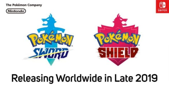 Pokemon Sword Shield - Releasing Worldwide in Later 2019