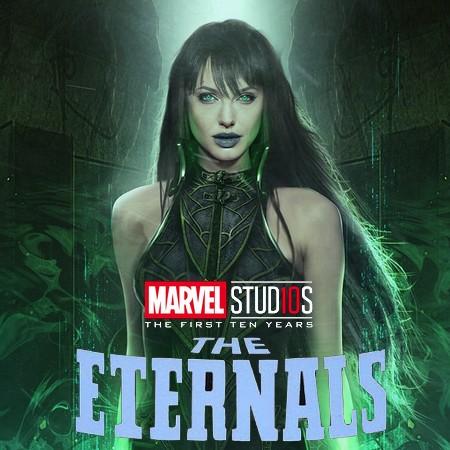 Angelina Jolie poderá estrelar filme dos Eternos da Marvel Studios