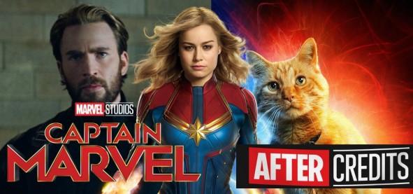 Capitã Marvel - Vingadores Ultimato, Goose, Tesseract e as Duas Cenas Pós-Créditos