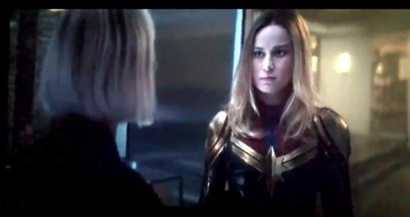 Captain Marvel - The Avengers - After Credits