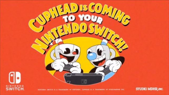 Cuphead to your Nintendo Switch