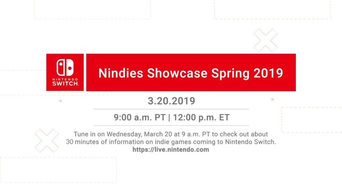 Nintendo Switch Nindies Showcase Spring 2019