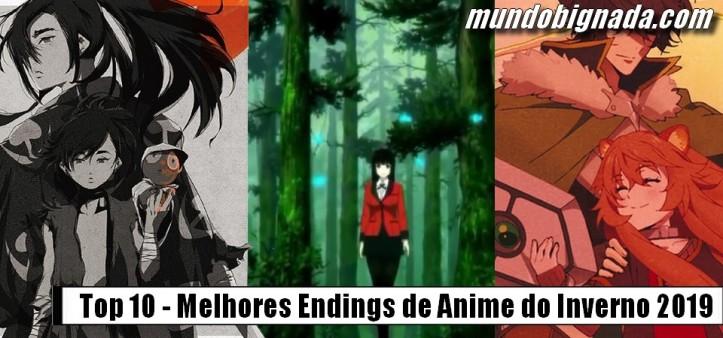Top 10 - Melhores Encerramentos Endings de Anime do Inverno 2019