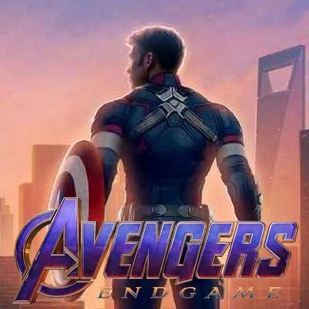 Vingadores - Ultimato - Liberado Banner Chinês do Filme