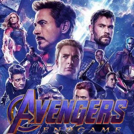 Vingadores - Ultimato - Liberado Poster Internacional do Filme