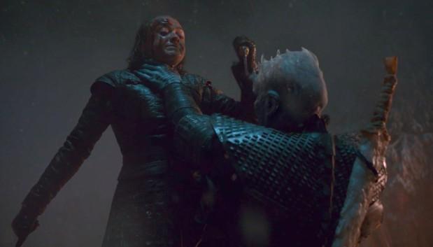 Game of Thrones - Season 8 - Arya Stark Vs. Rei da Noite
