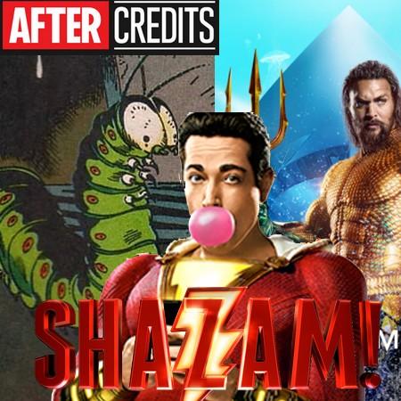 Shazam - Sr Cérebro, Aquaman e as Cenas Pós-Créditos do Filme